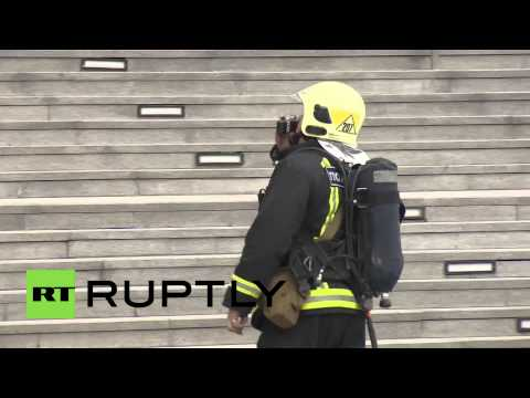 Russia: Major fire drill hits Moscow's upmarket business district