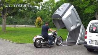 Weltneuheit - Demonstration der neuen Bikebox24