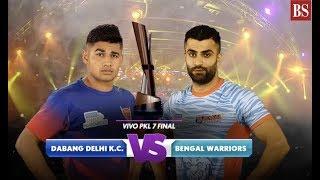 Pro Kabaddi 2019 final: Dabang Delhi vs Bengal Warriors video highlights