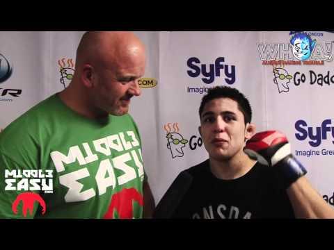 BAMMA 8: Erik Perez [post fight interview]