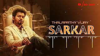 Sarkar   Vijay Mass BGM - Ringtone   Download link   Whatsapp status
