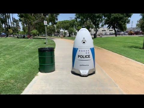 Associated Press: California police put Robocop on patrol in park