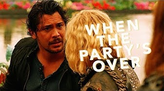 Bellamy & Clarke   When The Party's Over [+6x02]
