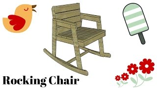 FULL PLANS at: http://myoutdoorplans.com/furniture/rocking-chair-plans/ SUBSCRIBE for a new DIY video every single week! If you