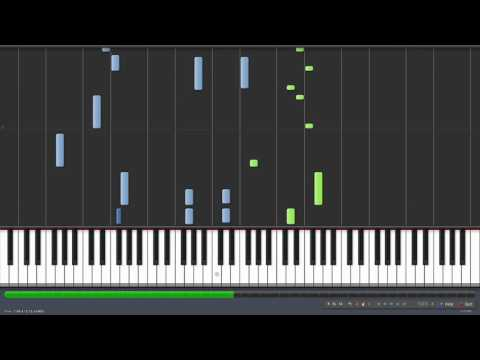 Sneaky Snitch - Kevin Macleod [Piano Tutorial] (Synthesia)