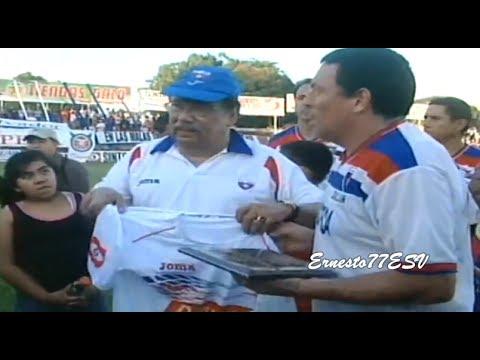Partido de despedida de Raúl Toro Basáez con C.D. Luis Ángel Firpo 90's Vs C.D. Águila 90's