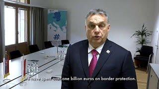 Hungría exige 500 millones de euros por proteger las fronteras de la UE