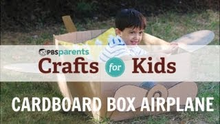 Cardboard Box Airplane | Crafts For Kids | Pbs Parents