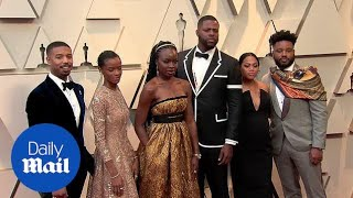 Wakanda Forever! The cast of Black Panther at the 2019 Oscars