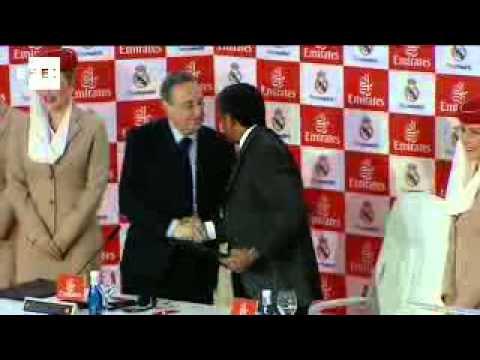 Real Madrid y Emirates firman por cinco años