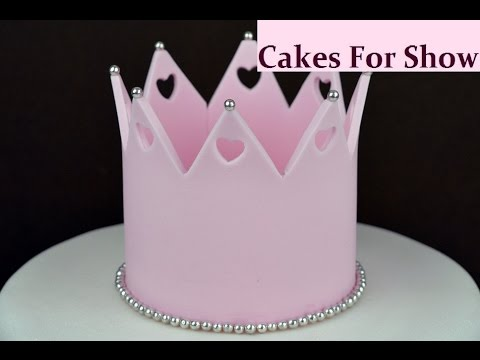 Tiara Birthday Cake Topper