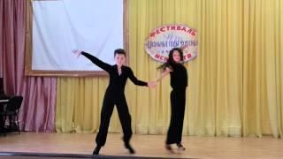 Танцы в школе январь 2016