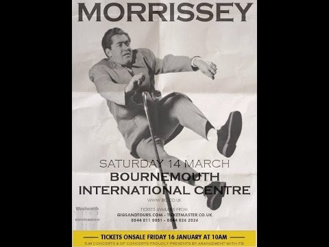 Morrissey live in Bournemouth (FULL AUDIO)