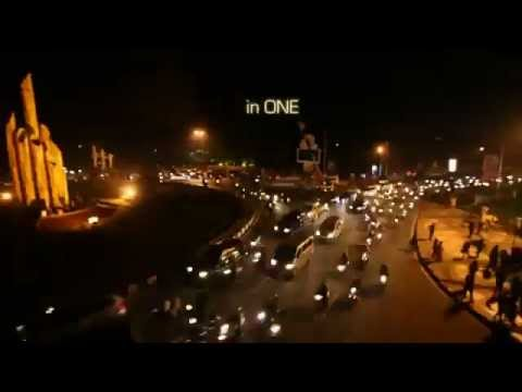 Earth Hour 2012 From Equator City Pontianak Indonesia