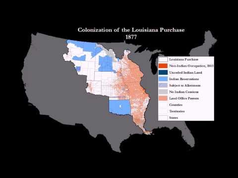 Colonization of the Louisiana Purchase, 1804-1934