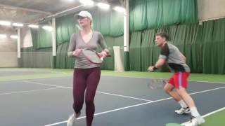 Andy Hill Cardio Tennis Doubles Chase (advanced group)