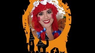 Raggedy Ann Halloween Tutorial