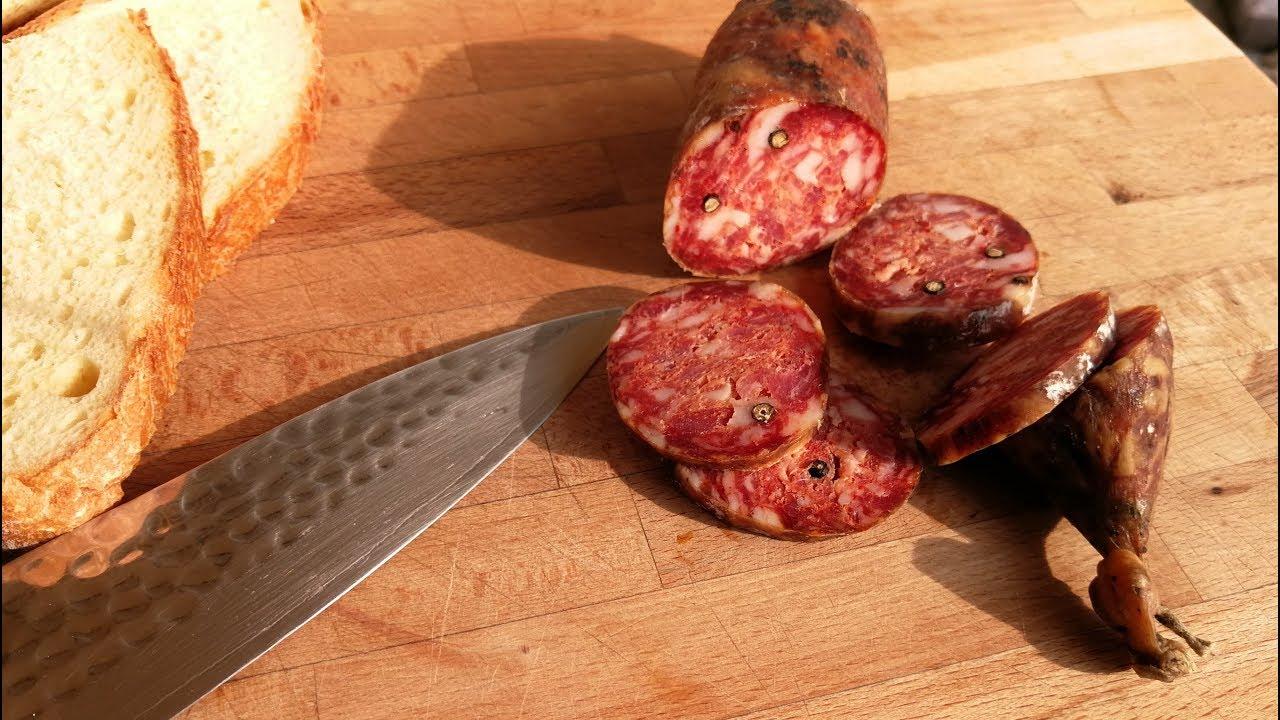 Download How to Make Italian Salami ( Calabrian Style ) - Best Salami recipe @l'uomo di casa