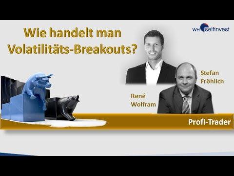 Fröhlich meets Wolfram -wie handelt man Volatilitäts- Breakouts?