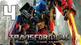 Transformers Rise of the Dark Spark Walkthrough Parte 4 Capitulo 4 Gameplay Español PC/PS4/XboxOne