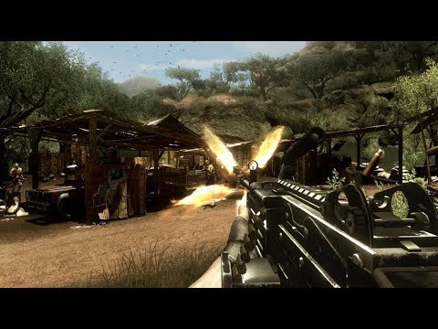 Very Beautiful Game about African Jungle ! Far Cry 2