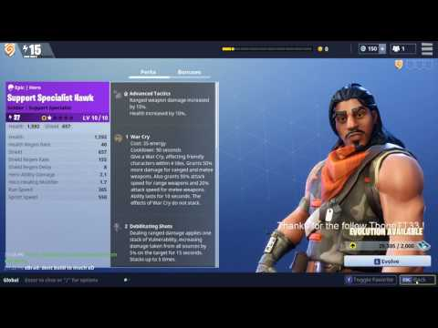 FortNite: How To Evolve Your Hero!