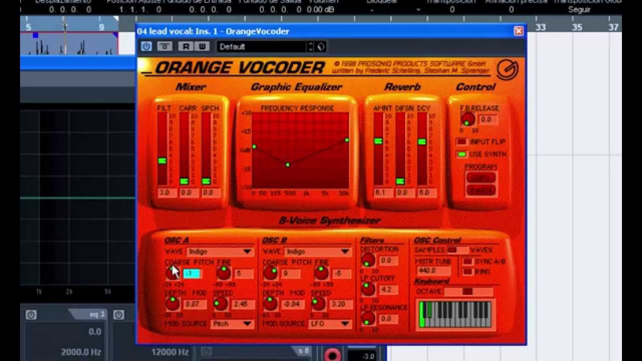 orange vocoder torrent