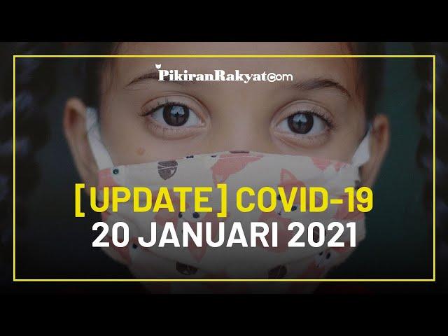 [UPDATE] Angka Corona Covid-19 di Indonesia per 20 Januari 2021, Bertambah Lagi 12.568 Kasus Positif