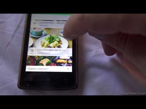20 min. food delivery to your room using your smartphone in Bangkok, Thailand