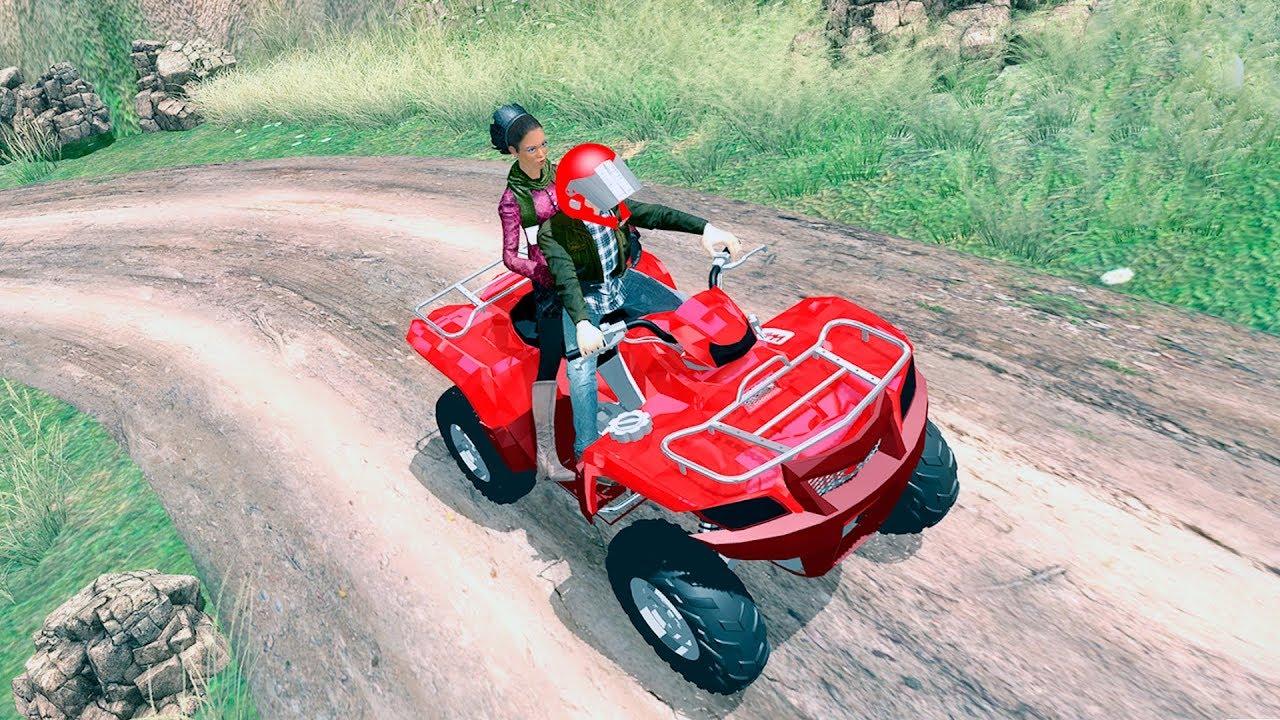 Bike Games Atv Quad Bike Offroad Crazy Taxi Driver Sim 3d
