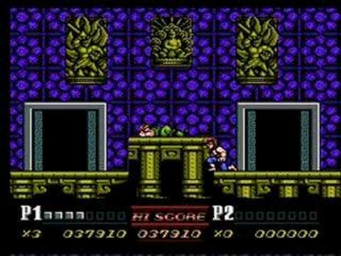 Double Dragon Ii Nes Stage 6 Youtube