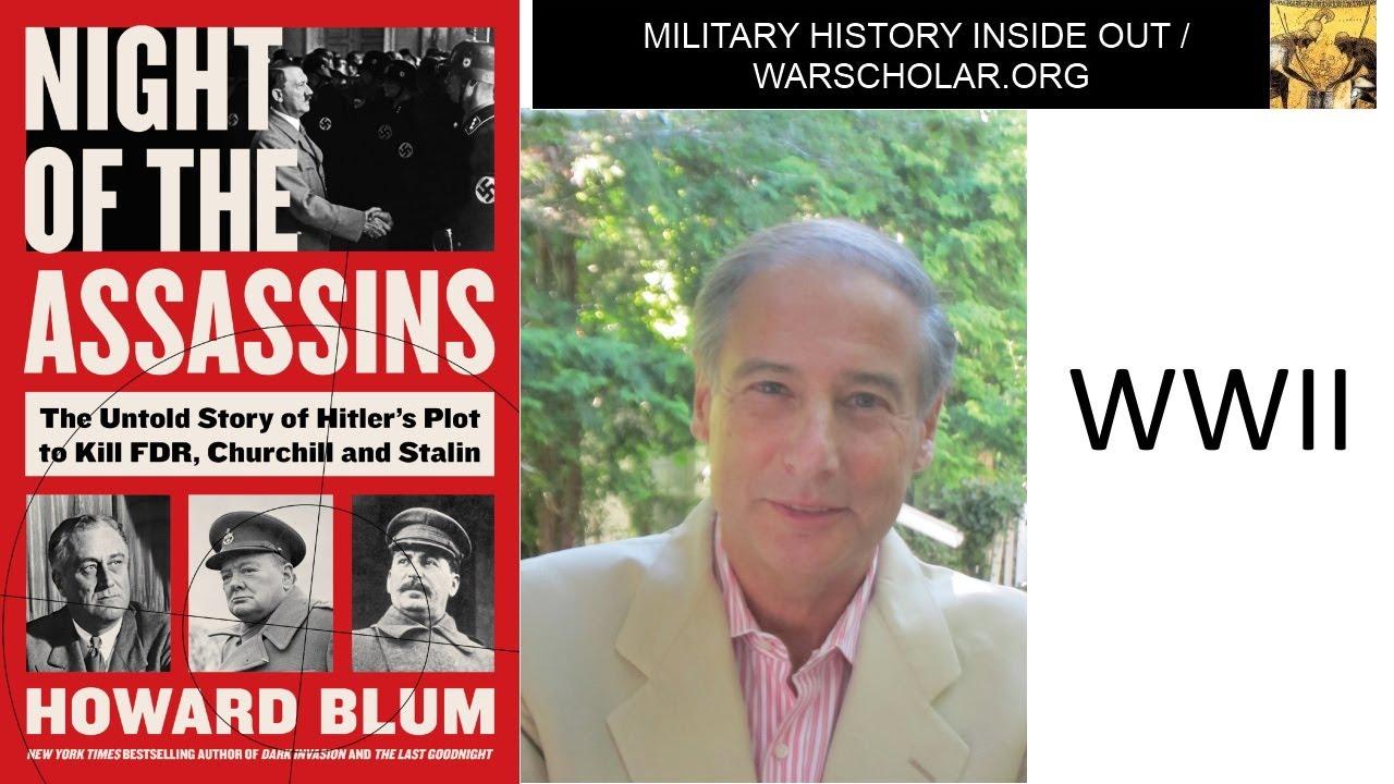 Download Howard Blum WWII espionage book tour interview