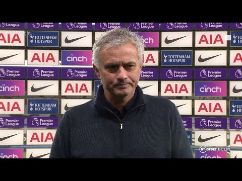 """""""The penalty is difficult to accept"""" José Mourinho insists Spurs deserved more against Chelsea"""