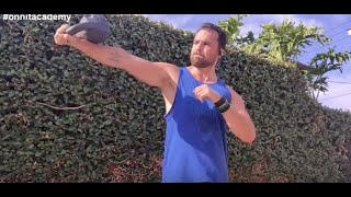 Kettlebell Workout with 3 Powerful Movements.