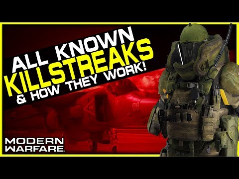 All Killstreaks in Modern Warfare! (Are they any Good?)