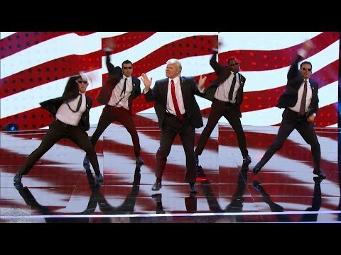 America's Got Talent 2017 Donald Trump Makes Backstreet Boys Great Again Full Clip Judge Cuts S12E08