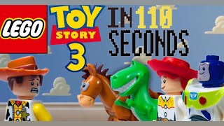 Toy story 3 in 110 Seconds |Lego Stopmotion|