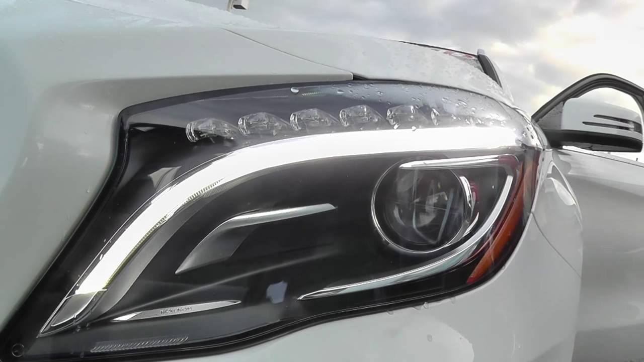 Focus points 2015 mercedes benz gla 250 bi xenon for Mercedes benz xenon headlights