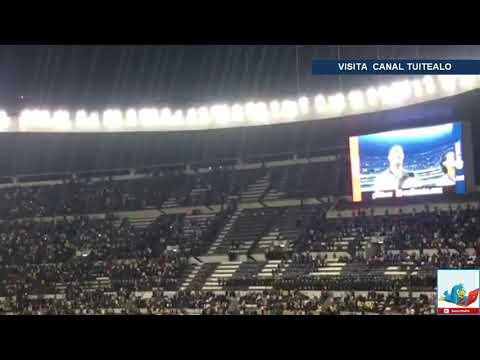 Ana Bárbara entona el Himno Nacional en la Final Liga MX América vs Cruz Azul y la tunden en redes