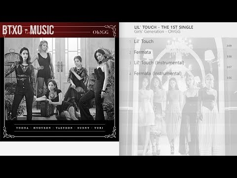 Girls' Generation-Oh!GG - Lil' Touch - The 1st Single