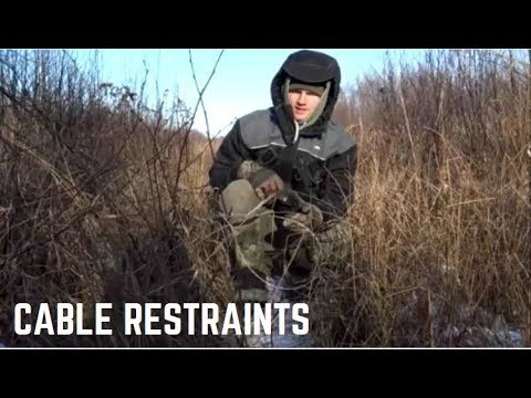 How To Set A LEGAL Cable Restraint