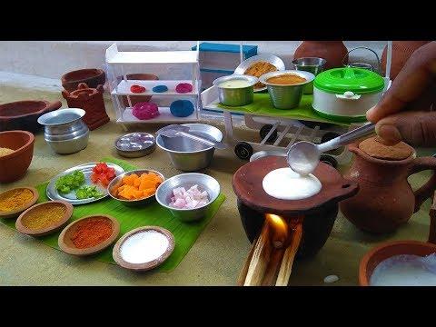 Miniature Masala Roast | Miniature Cooking | Masala Dosa | Kitchen Set Giveaway