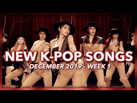 New K-Pop Songs  December 2019 Week 1