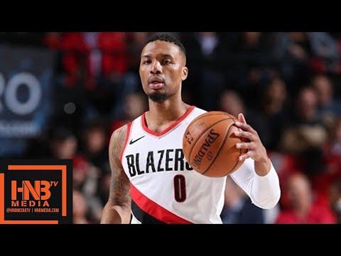 Portland Trail Blazers vs New York Knicks Full Game Highlights / March 6 / 2017-18 NBA Season