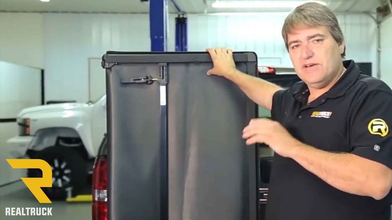 How To Install Lund Genesis Tri Fold Tonneau Cover Youtube