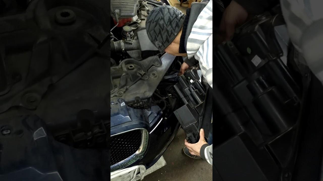 Замена фары Jaguar XF
