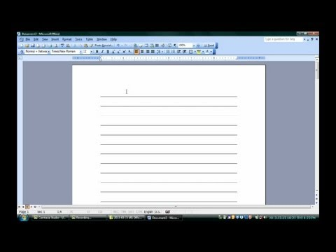 How to Make Notepads in Microsoft Word  Microsoft Word  Excel - notepad template for word