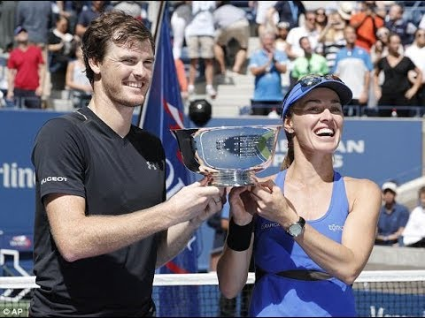Jamie Murray and Martina Hingis beat Michael Venus and Chan Hao-ching US Open mixed doubles triumph