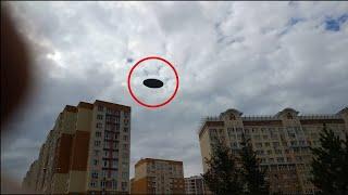 Я в ШОКЕ!!! Такого вы точно никогда не видели!!!!!!! НЛО прячутся от нас прямо над головами у людей!