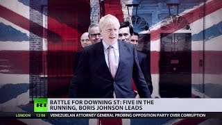 Borish Johnson tops ballot in second round of voting for Tory leadership